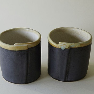 Hand Made Ceramic Cups - 2 Cups