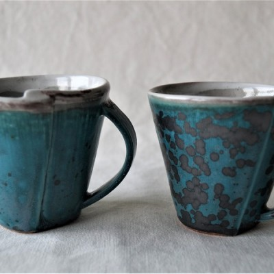 Hand Rolled Ceramic Mug - Each