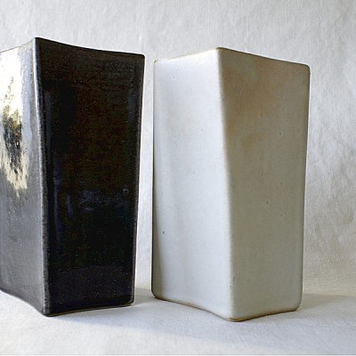 Rectangular Vase - Pair